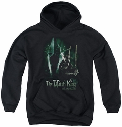 Lord of the Rings youth teen hoodie Witch King black