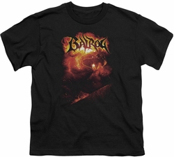 Lord of the Rings youth teen t-shirt Balrog Black