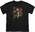 Lord of the Rings youth teen t-shirt Frodo Black