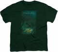 Lord of the Rings youth teen t-shirt Lost Ring Hunter Green