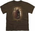 Lord of the Rings youth teen t-shirt Rohan Royalty Coffee