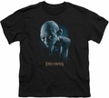 Lord of the Rings youth teen t-shirt Sneaking Black