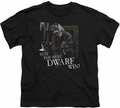 Lord of the Rings youth teen t-shirt The Best Dwarf Black