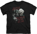 Lord of the Rings youth teen t-shirt Time Of The Orc Black