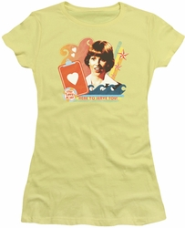 Love Boat juniors t-shirt Here To Serve banana