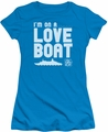 Love Boat juniors t-shirt I'm On A turquoise