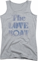 Love Boat juniors tank top Distressed athletic heather