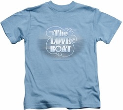 Love Boat kids t-shirt The Love Boat carolina blue