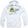 Love Boat pull-over hoodie Romance Ahoy adult white