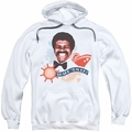 Love Boat pull-over hoodie Shake Em Up adult white