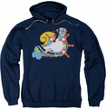 Love Boat pull-over hoodie The Doctor Is In adult navy