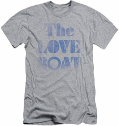 Love Boat slim-fit t-shirt Distressed mens heather