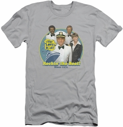 Love Boat slim-fit t-shirt Rockin The Boat mens silver