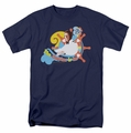 Love Boat t-shirt The Doctor Is In mens navy