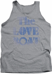 Love Boat tank top Distressed mens heather