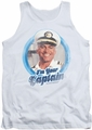 Love Boat tank top I'm Your Captain mens white