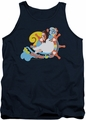 Love Boat tank top The Doctor Is In mens navy