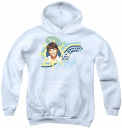 Love Boat youth teen hoodie Romance Ahoy white