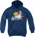 Love Boat youth teen hoodie The Doctor Is In navy