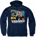 Lucille Ball Lucy pull-over hoodie Ai Yi Yi adult navy