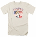 Lucille Ball Lucy t-shirt All American mens cream