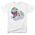 Lucille Ball Lucy t-shirt Always Connected mens white