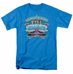 Lucille Ball Lucy t-shirt California Here We Come mens turquoise