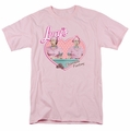Lucille Ball Lucy t-shirt Chocolate Factory mens pink