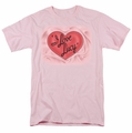 Lucille Ball Lucy t-shirt Classic Logo mens pink