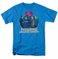 Lucille Ball Lucy t-shirt Complete mens turquoise