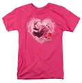 Lucille Ball Lucy t-shirt Happy Anniversary mens hot pink