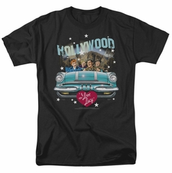 Lucille Ball Lucy t-shirt Hollywood Road Trip mens black