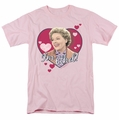 Lucille Ball Lucy t-shirt I'm Ethel mens pink
