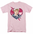Lucille Ball Lucy t-shirt I'm Lucy mens pink