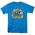 Lucille Ball Lucy t-shirt Lucy's Luau mens turquoise