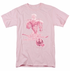 Lucille Ball Lucy t-shirt Nobody Else mens pink