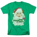 Lucille Ball Lucy t-shirt Santa mens kelly green
