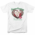 Lucille Ball Lucy t-shirt Seasons Greetings mens white