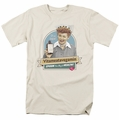 Lucille Ball Lucy t-shirt Spoon To Health mens cream