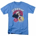 Lucille Ball Lucy t-shirt Yelling In Spanish mens carolina blue