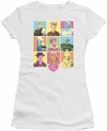 Lucy Lucille Ball juniors t-shirt So Many Faces white
