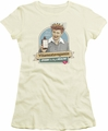 Lucy Lucille Ball juniors t-shirt Spoon To Health cream