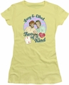 Lucy Lucille Ball juniors t-shirt Two Of A Kind banana