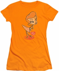Lucy Lucille Ball juniors t-shirt Vintage Doll orange