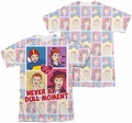 Lucy Lucille Ball mens full sublimation t-shirt All Over Panels