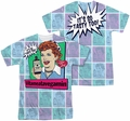 Lucy Lucille Ball mens full sublimation t-shirt All Over Vita Comic