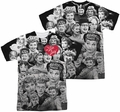 Lucy Lucille Ball mens full sublimation t-shirt Faces