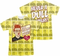Lucy Lucille Ball mens full sublimation t-shirt Warm All Over