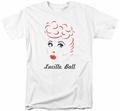 Lucy Lucille Ball t-shirt Drawing mens white