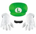 Luigi child costume accessory kit